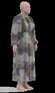 Платье из батиста с рукавами летучая мышь1.png