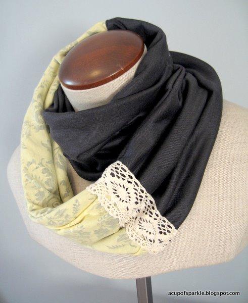 Снут шарф своими руками