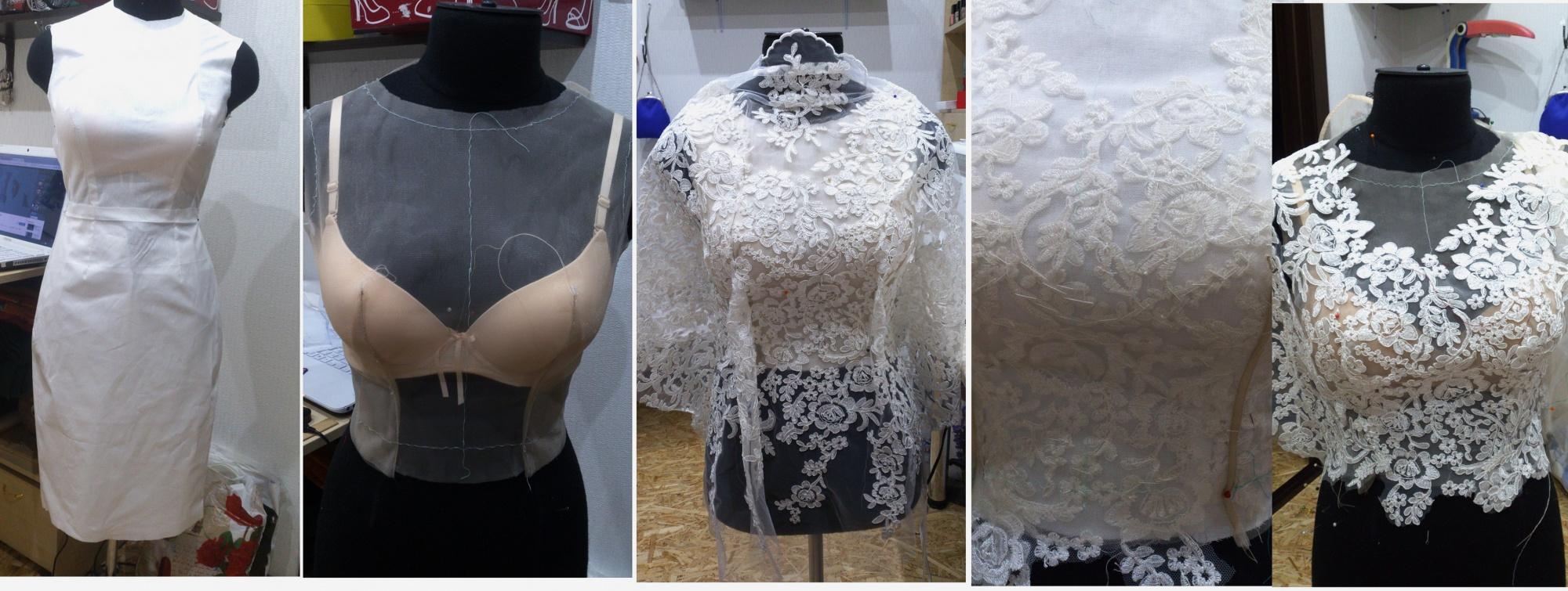 юбка из сетки со шлейфом выкройка