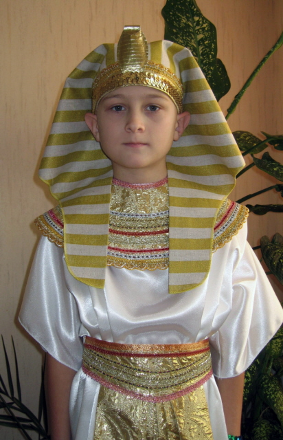 Выкройка костюма фараона