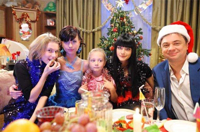 Папины дочки на новый год