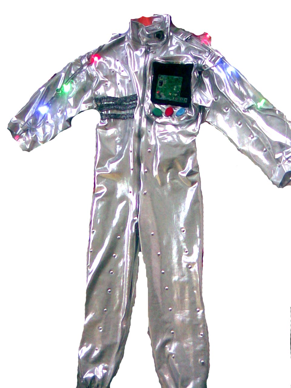 Новогодний костюм робота фото