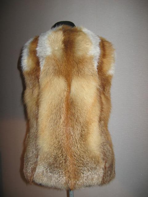 Как сшить жилет из меха лисы своими руками