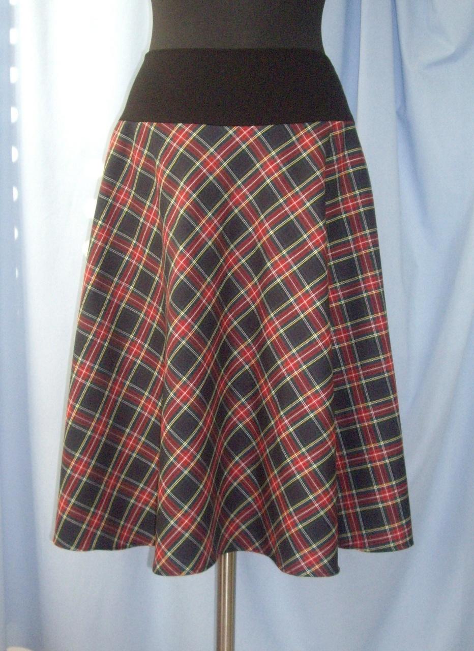 Как сшить юбку шотландку девочке