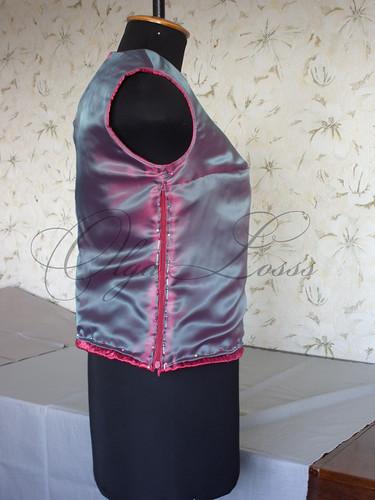 Вшить молнию в боковой шов юбки