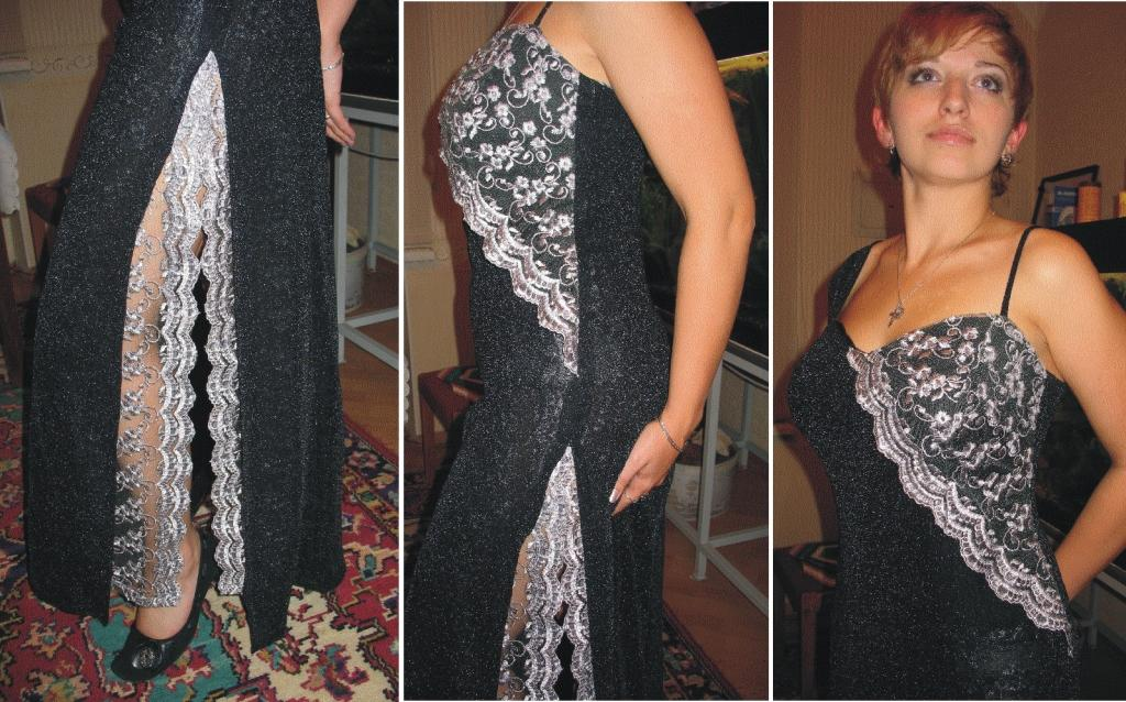 Пошив платья своими руками из гипюра 90