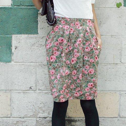 юбка тюльпан фото выкройка