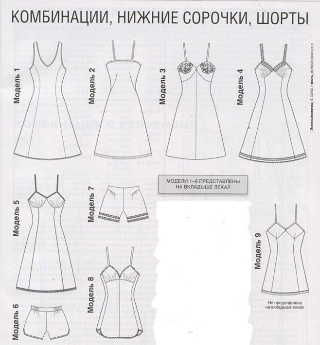 Платье комбинация выкройка сшить