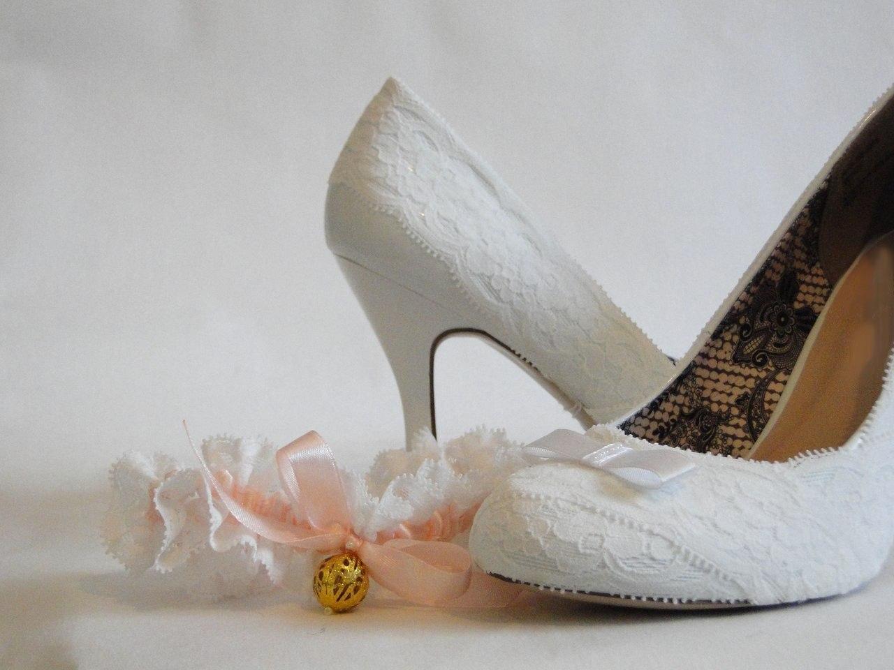 Кружевные туфли своими руками 8