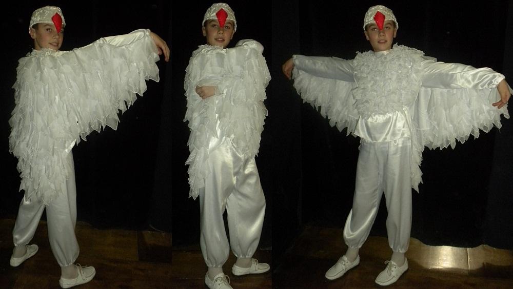 Как сделать костюм лебедя своими руками
