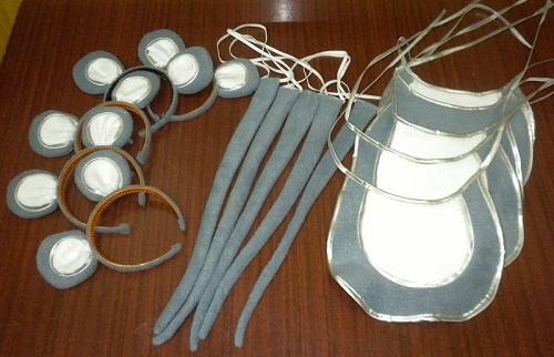 Как сделать ушки для костюма мышки своими руками