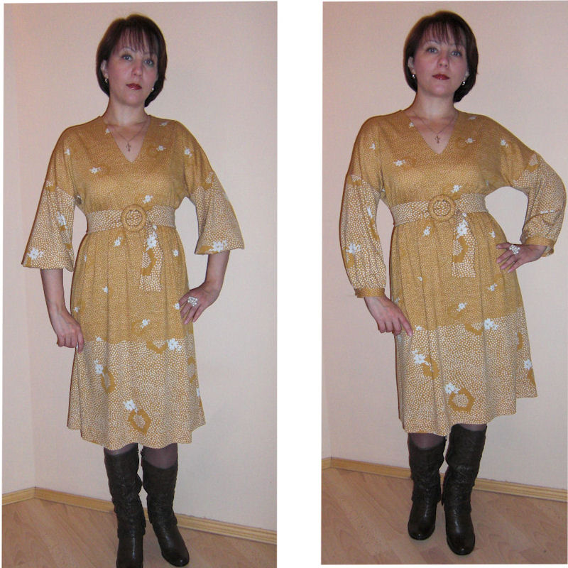 Сшить платье из тонкого трикотажа своими руками
