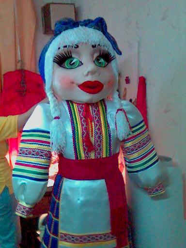 поролоновые мордочки и ростовые куклы
