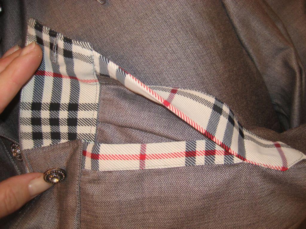 Как сделать уже рукав пиджака 200