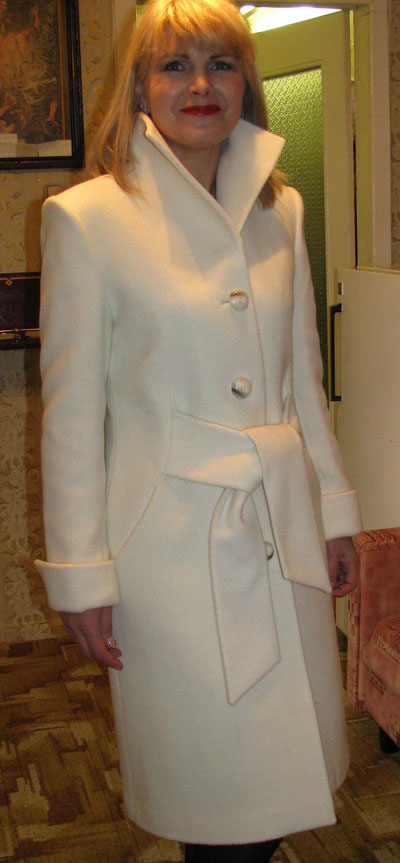 Как перешить воротник стойка на пальто