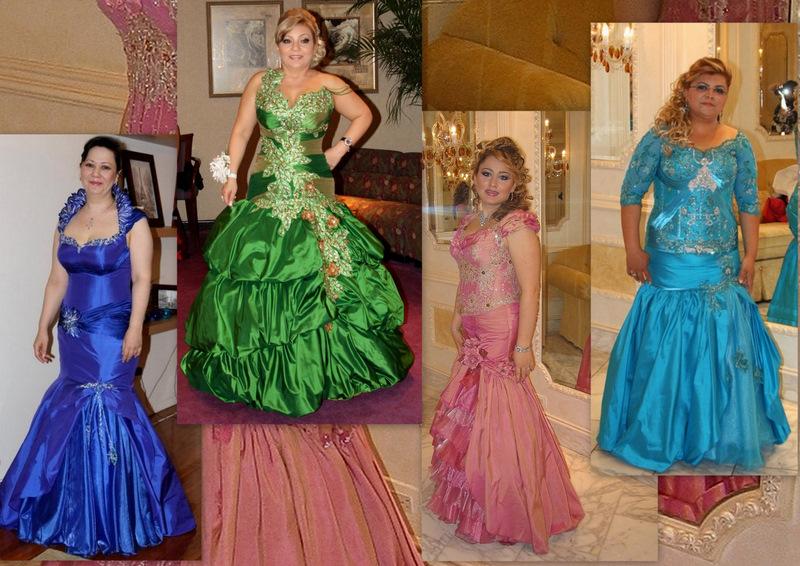 Красивое платье для юбилея