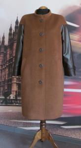 Выкройка пальто без воротника прямого