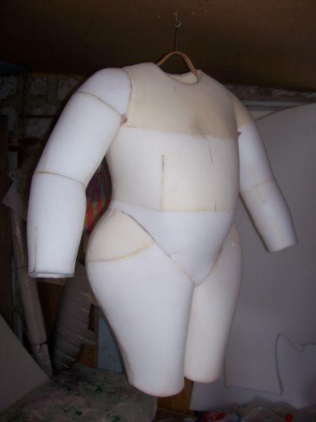 Как сделать костюм из поролона