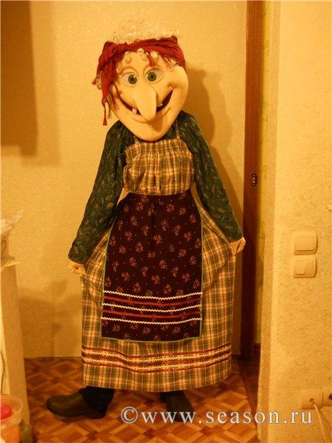 Ростовая кукла сделать насест