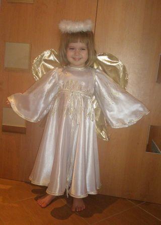 Костюм ангела своими руками быстро для девочки