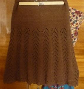 зимняя вязаная юбка крючком #5. зимняя вязаная юбка крючком #6