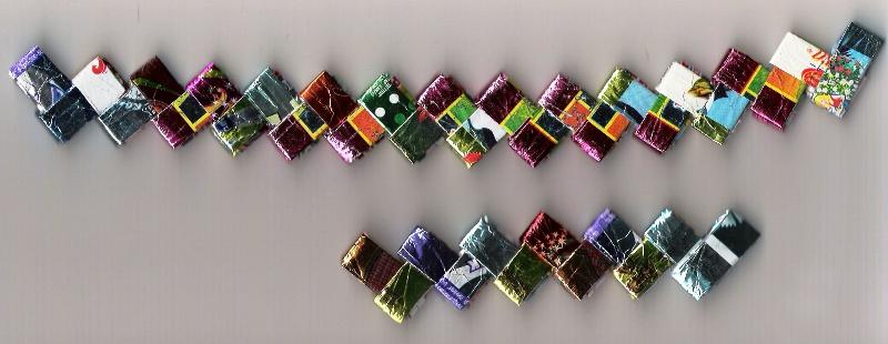 Видео как сделать из фантиков от конфет фото 963