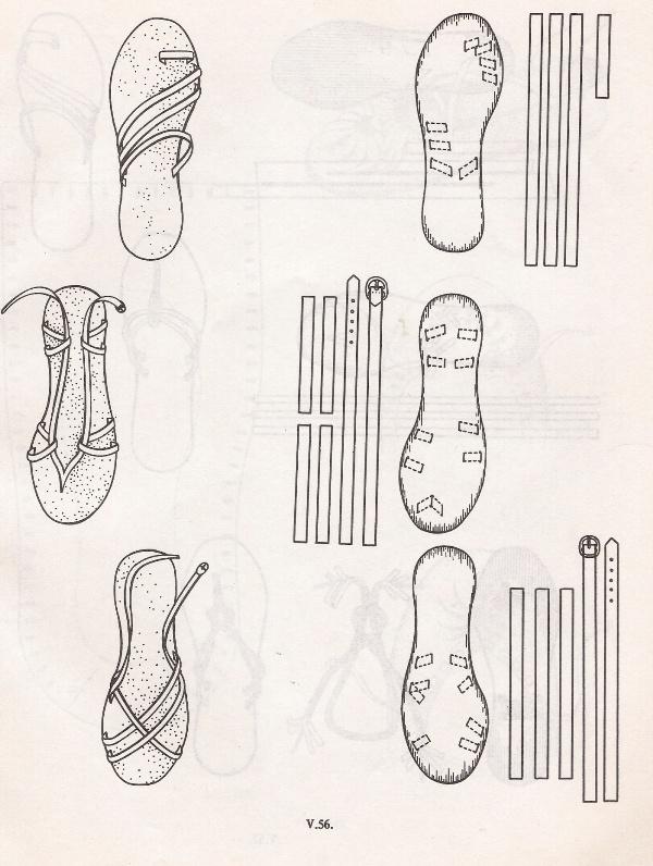 Выкройки мужских туфель