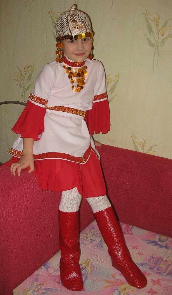 Чувашский народный костюм своими руками 15