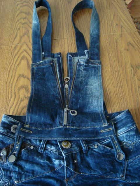 Как из джинсов сделать комбинезон