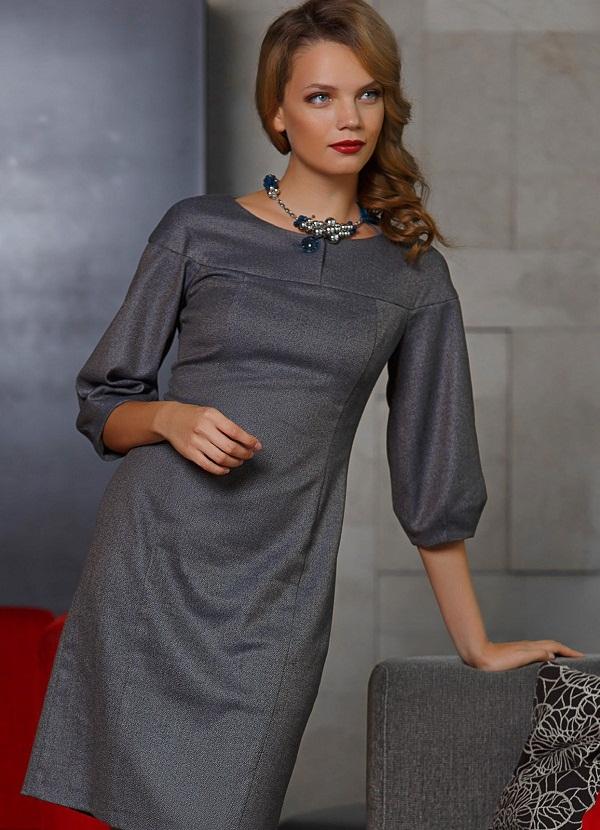 Элегантное платье трикотаж