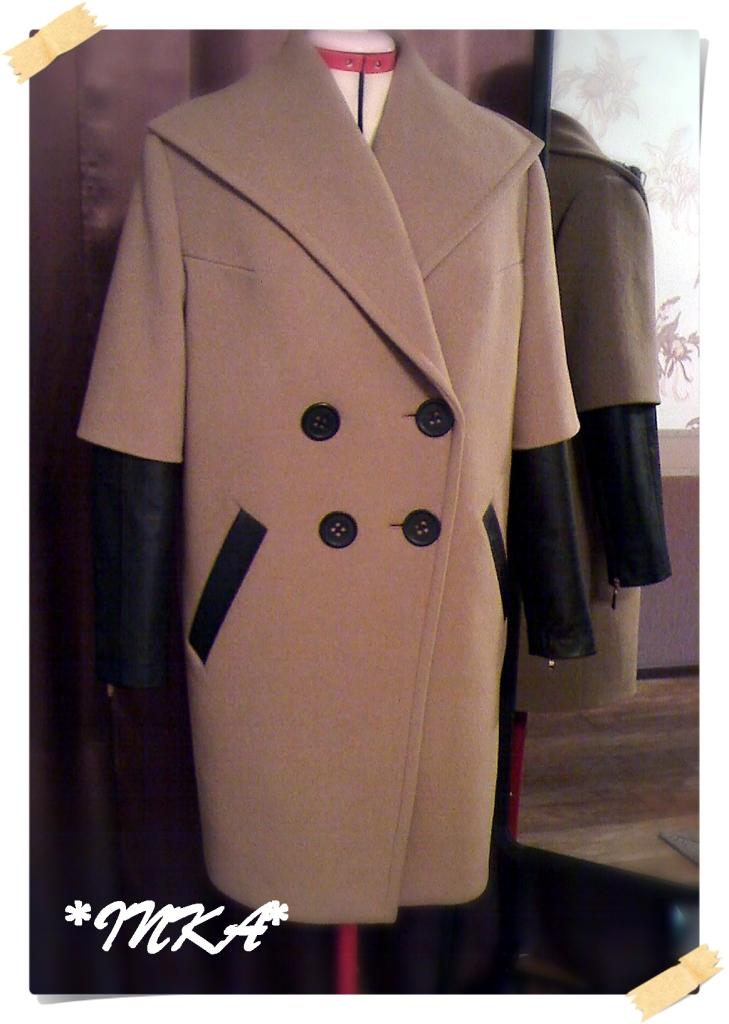 Как сшить подол пальто 1