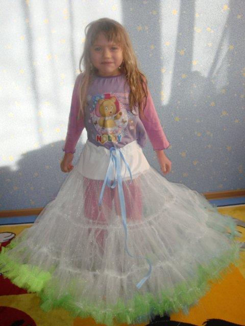 Как сшить платье пышное платье для девочки своими руками мастер класс