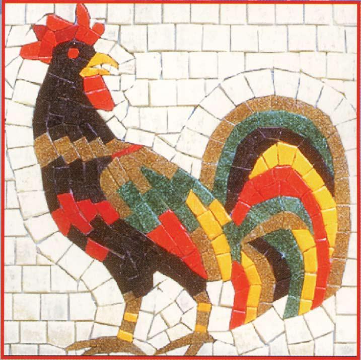 Как сделать из мозаики рисунок
