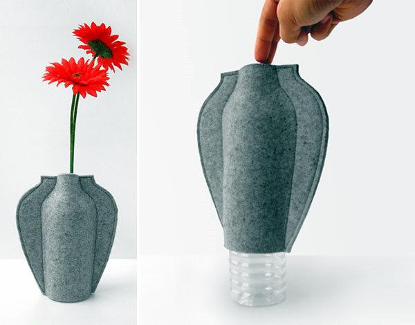 Из бутылки сделать напольную вазу своими руками