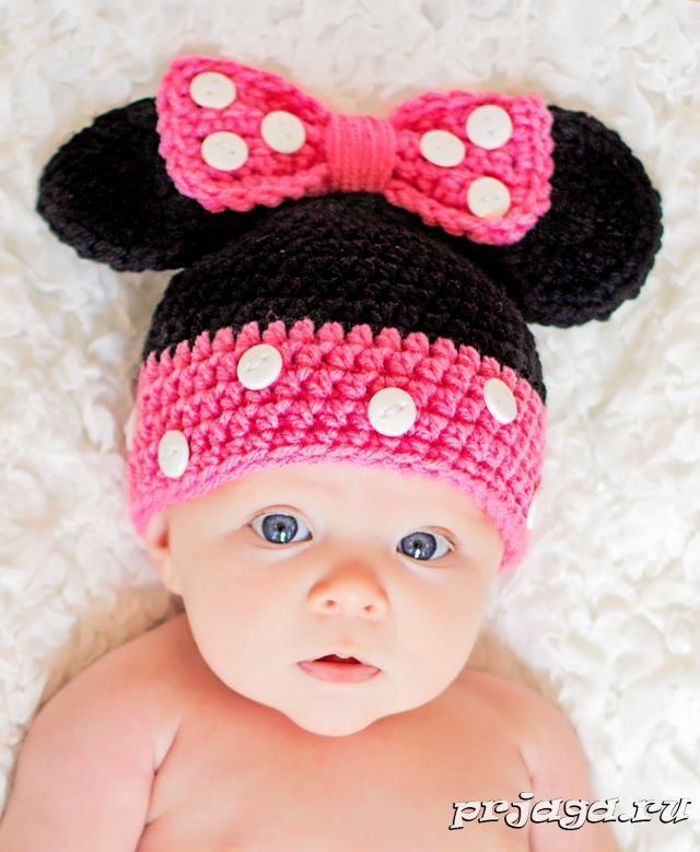 Дет. шапочки вязанные