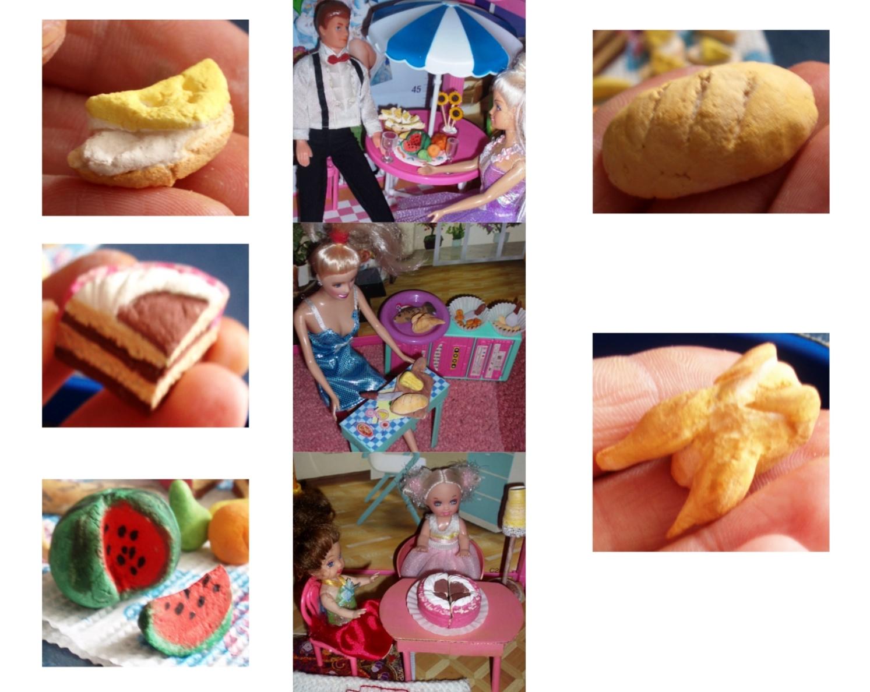 Еда для кукол своими руками. Как сделать еду для кукол 61