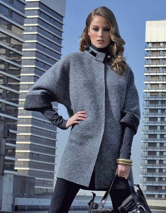 Как самой сшить пальто без швов