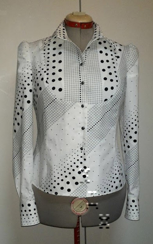 Блузка с планкой в нижнем новгороде