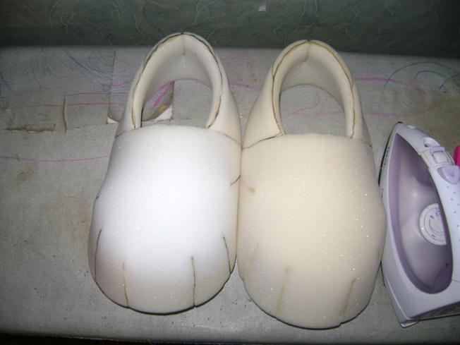 Как изготовить обувь своими руками видео