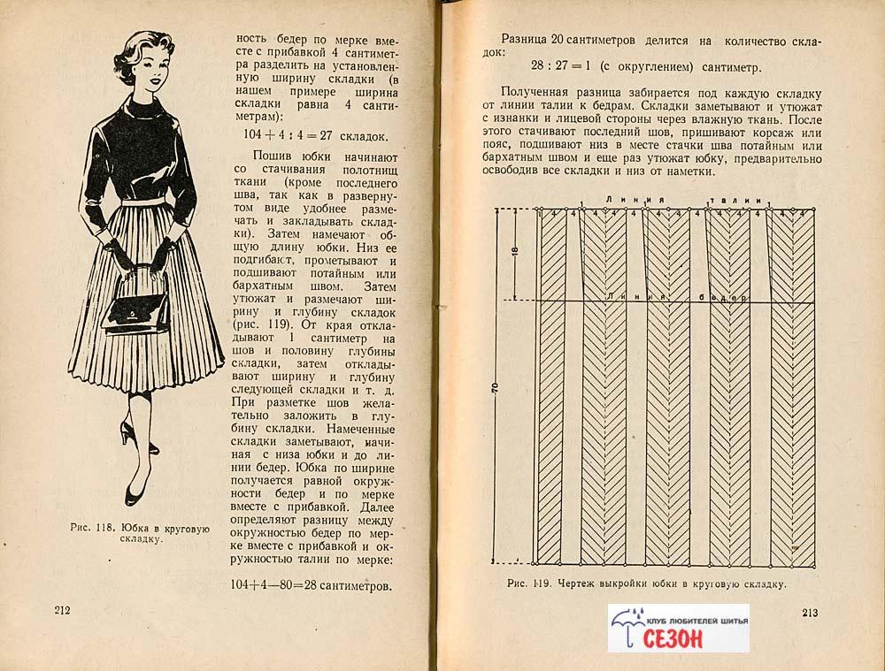 Как сшить юбку в складку для маленькой девочки своими руками