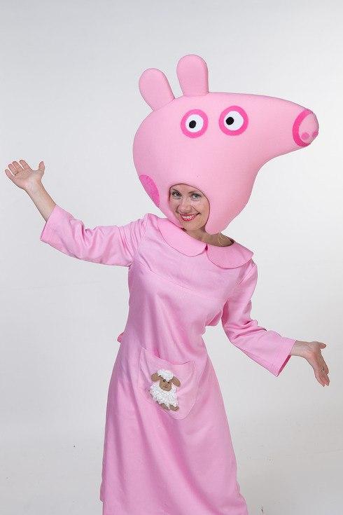 костюм карнавальный свинка пеппа купить