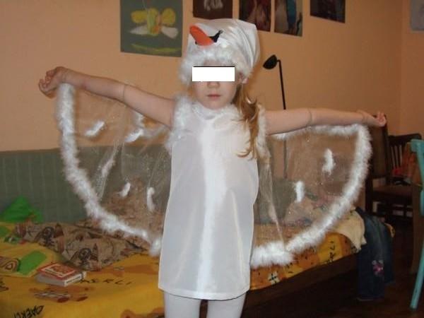 Крылья лебедя своими руками