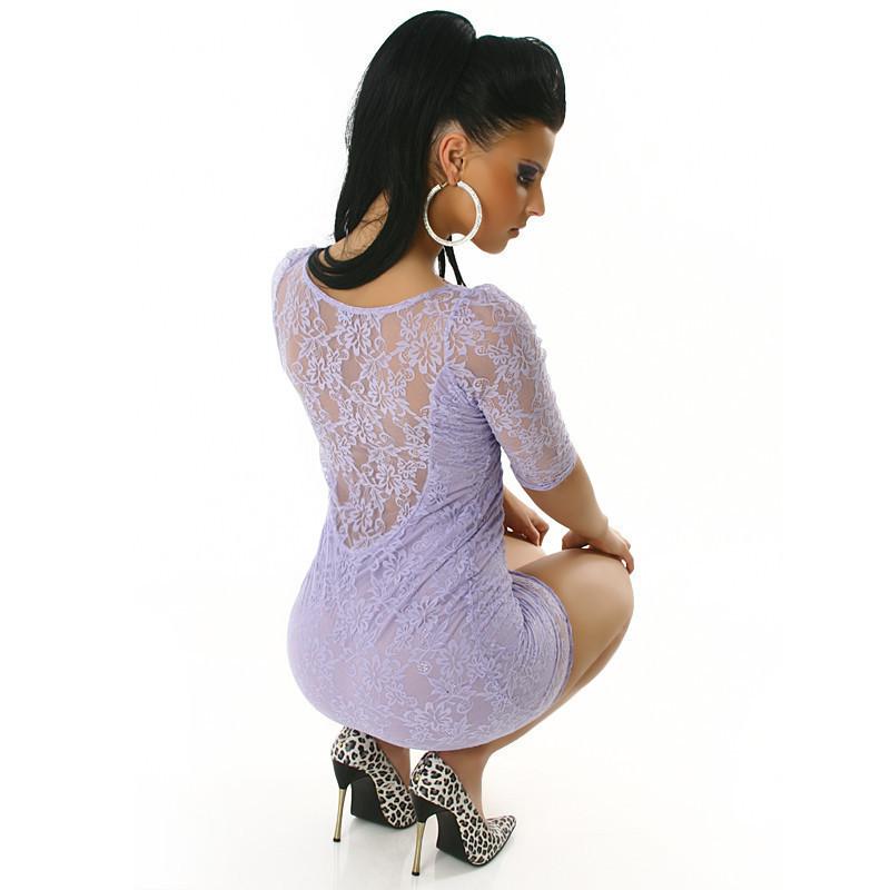 Сшить платье с гипюром