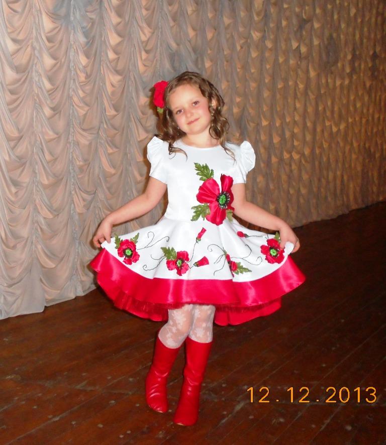 Своими руками украинский костюм для девочки