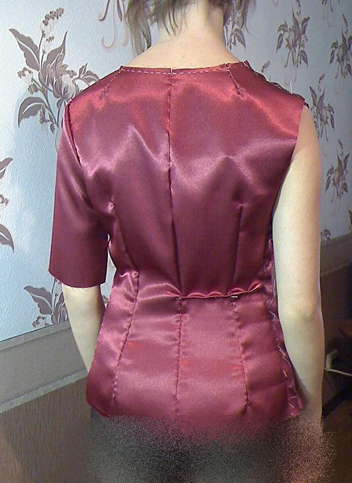 Как на платье сделать вытачки на спине платья 57