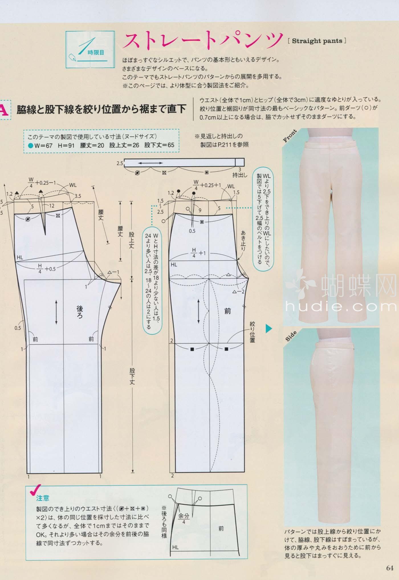 Сшить своими руками медицинские брюки выкройка6