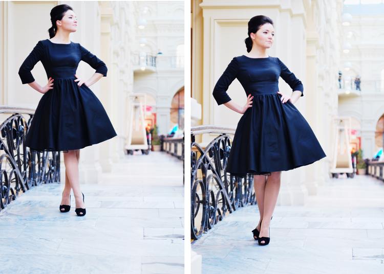 мода платье 1812