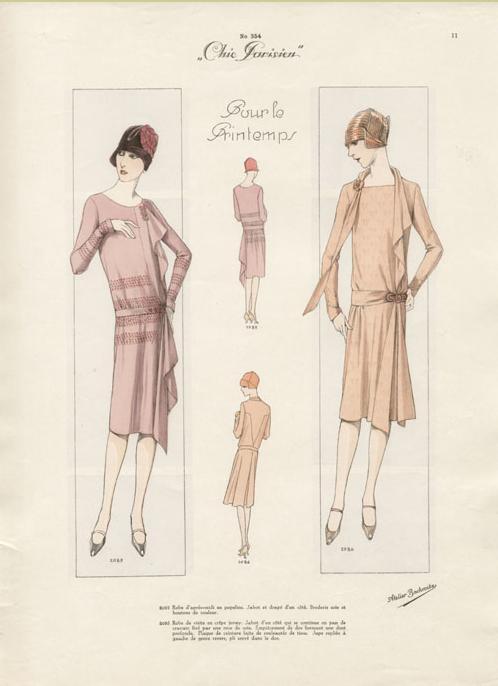 Платье 20-х годов своими руками
