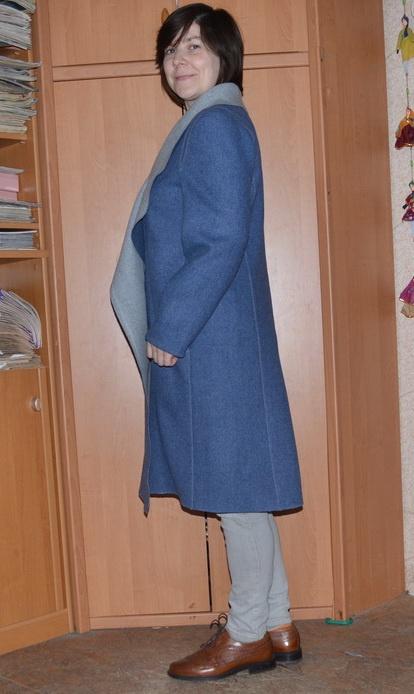 Сшить пальто без застежки без подклада своими руками 67
