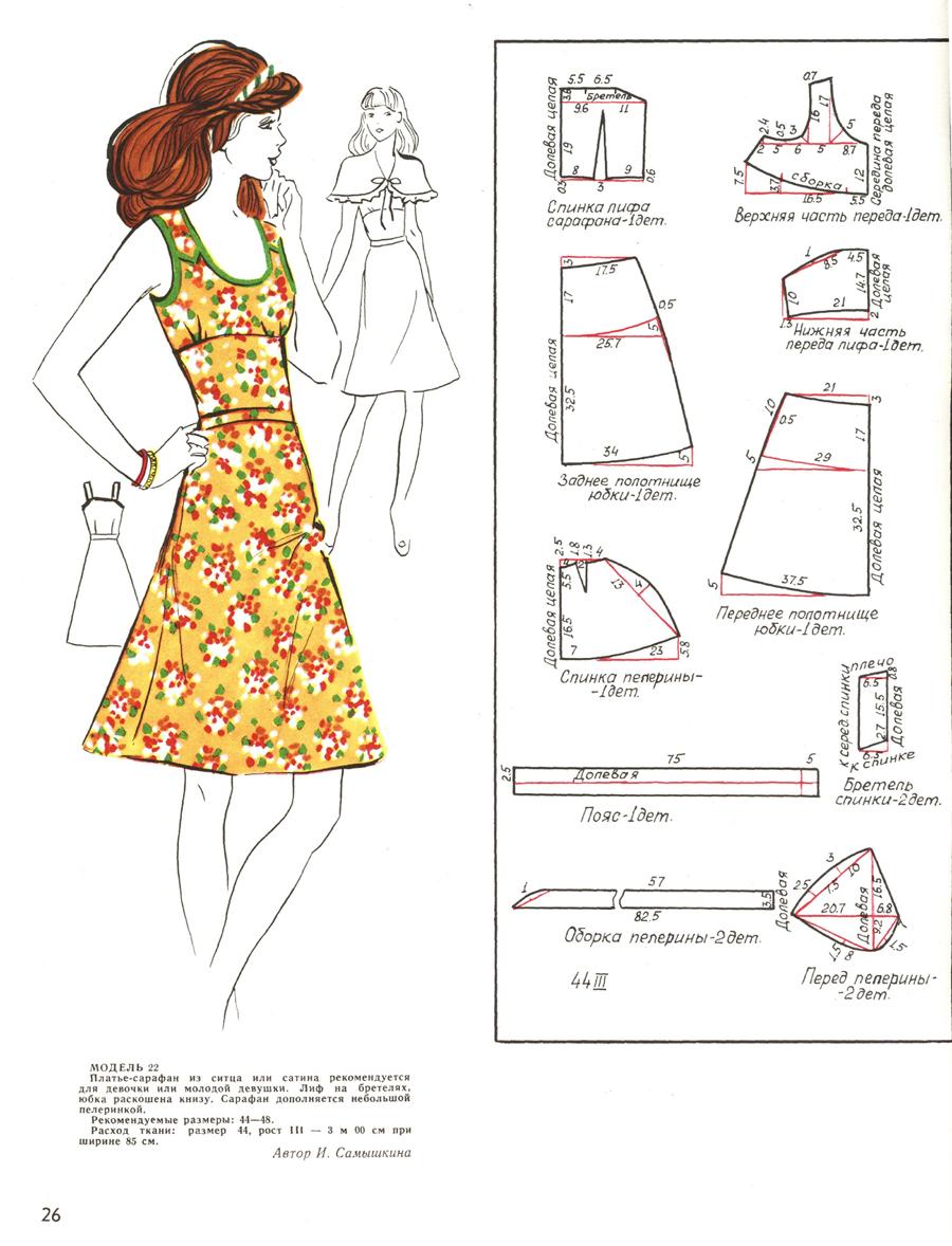 Женские летние платья сарафаны 2017 выкройки